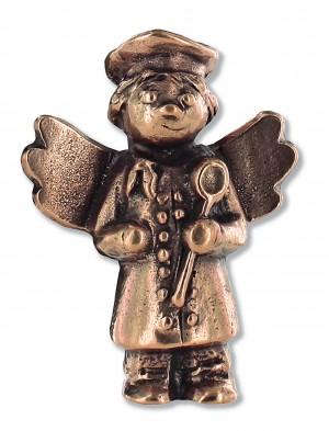 Schutzengel-Koch, aus Bronze