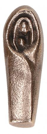 Bronze-Handschmeichler Madonna mit Kind