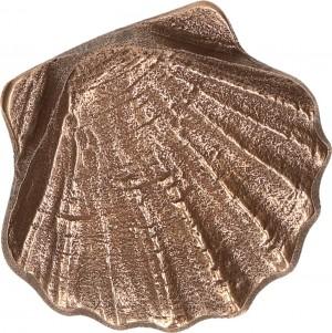 Bronze-Handschmeichler Jakobsmuschel