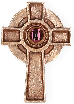 Irisches Kreuz aus Bronze