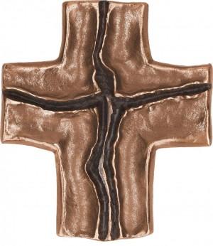 Schmuckkreuz Jesus aus Bronze