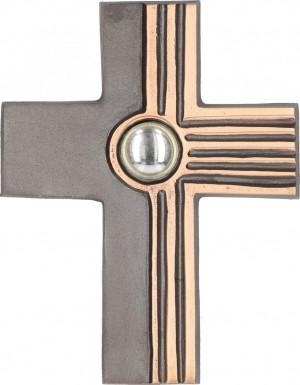 Bronzekreuz 9,5 x 12 cm