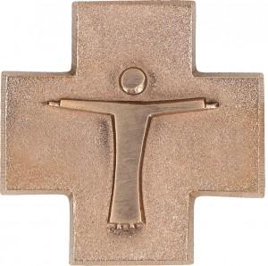 Bronzekreuz mit Korpus Aus Liebe zu dir