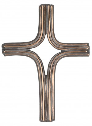 Schmuckkreuz Bronze