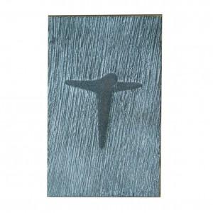 Reliefkreuz aus Bronze mit Corpus