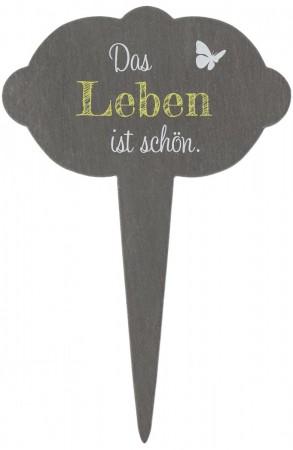 Schiefer-Blumenstecker Leben