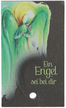 Schieferrelief Ein Engel sei bei dir