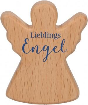 Engel-Holzhandschmeichler Lieblingsengel