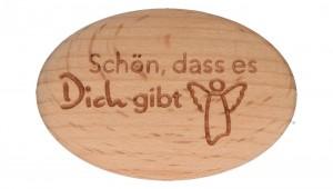 Holzhandschmeichler - Schön, dass es dich gibt