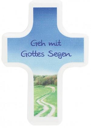 Handschmeichlerkreuz Geh mit Gottes Segen
