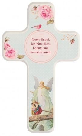 Kinderholzkreuz - Guter Engel