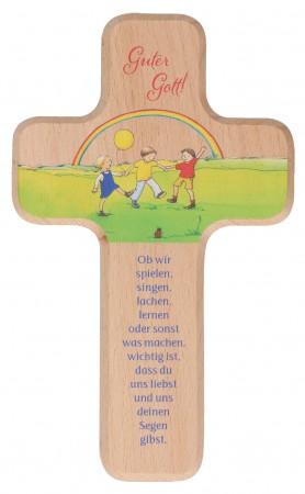 Kinderholzkreuz - Segen