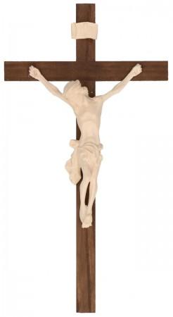 Holzkreuz dunkel mit Holzkorpus