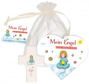 """Geschenkset """"Mein Engel hat mich lieb"""""""
