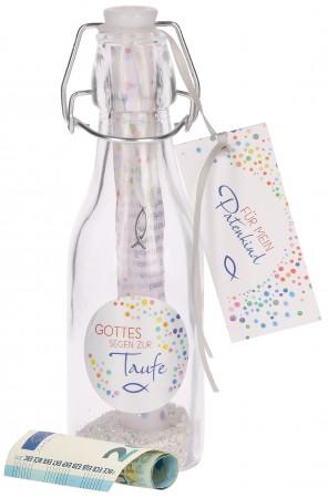 Flaschenpost zur Taufe