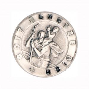 Plakette Christophorus - Gott schütze dich