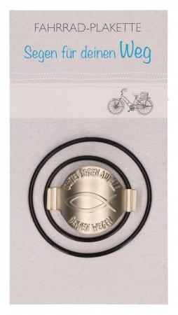 Fahrrad-Plakette Gottes Segen