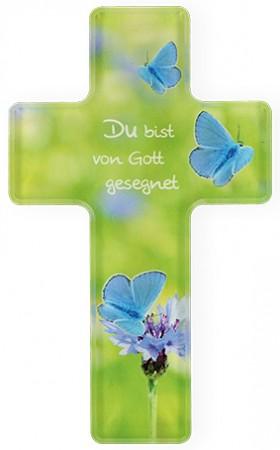 Kreuz aus Acryl Du bist von Gott gesegnet