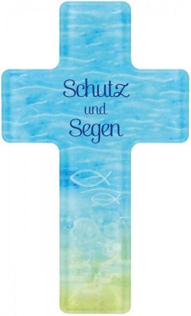 Kreuz aus Acrylglas Schutz und Segen