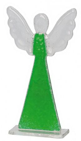 Engel zum Aufstellen in Grün