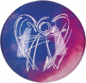 Glasmagnet Dein Engel der Freude