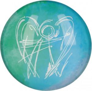 Glasmagnet Dein Engel begleite dich
