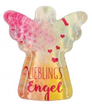 Glasmagnet LieblingsEngel in Engelform