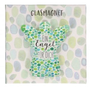 Engel-Glasmagnet - Ein Engel für dich