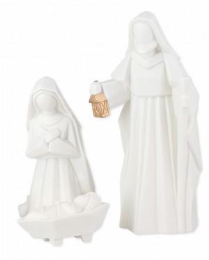 Porzellan-Figuren Heilige Familie - 3-teilig