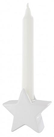 Porzellan-Figur Stern - für Kerze Ø 2cm