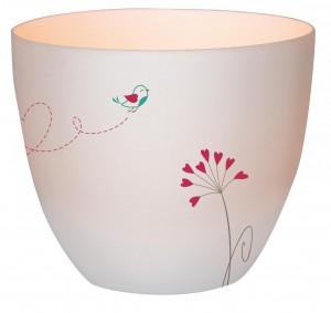Windlicht aus Porzellan - Die Chance