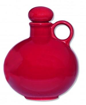 Keramik-Weihwasserkrug - rot