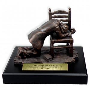 Skulptur - Betender Mann
