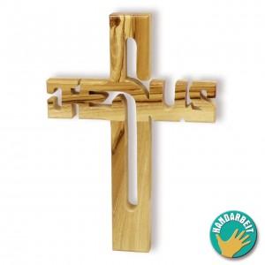 Holzkreuz - Jesus