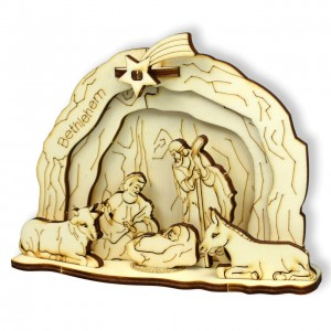 3D-Krippe - Bethlehem