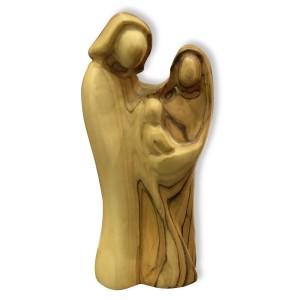 Holzfigur - Heilige Familie