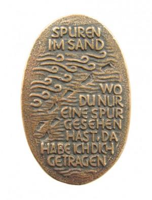 Handschmeichler Spuren im Sand