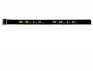 Gewebtes Armband - W.W.J.D.