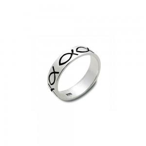 Ring Fische Sterlingsilber 21mm