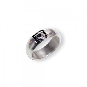Ring - Davidstern 17mm