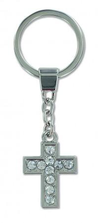 Metall-Schlüsselanhänger Kreuz