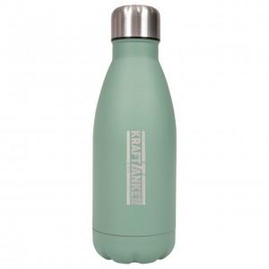 Trinkflasche Edelstahl - Kraft tanken