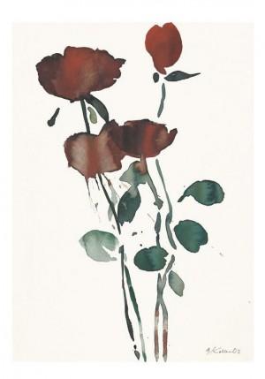 Vier Rosen