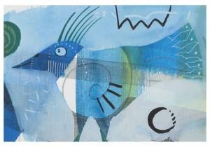 Blausonnenvogel