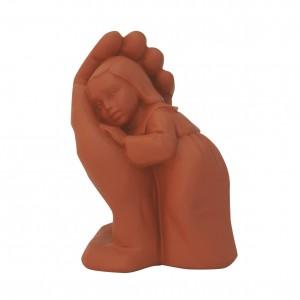Steinguss-Figur Bleib sein Kind