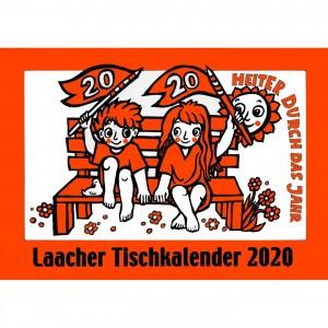 Laacher Tischkalender Heiter durch das Jahr 2020