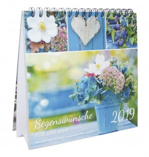 Segenswünsche für das Jahr - Kalender 2019