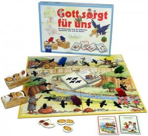 Kinderspiel - Gott sorgt für uns