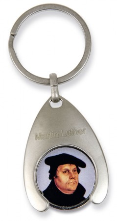 Schlüsselanhänger mit Einkaufschip - Martin Luther