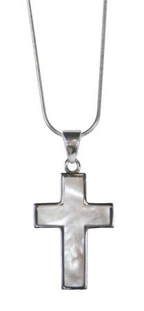 Halskette mit Anhänger - Kreuz